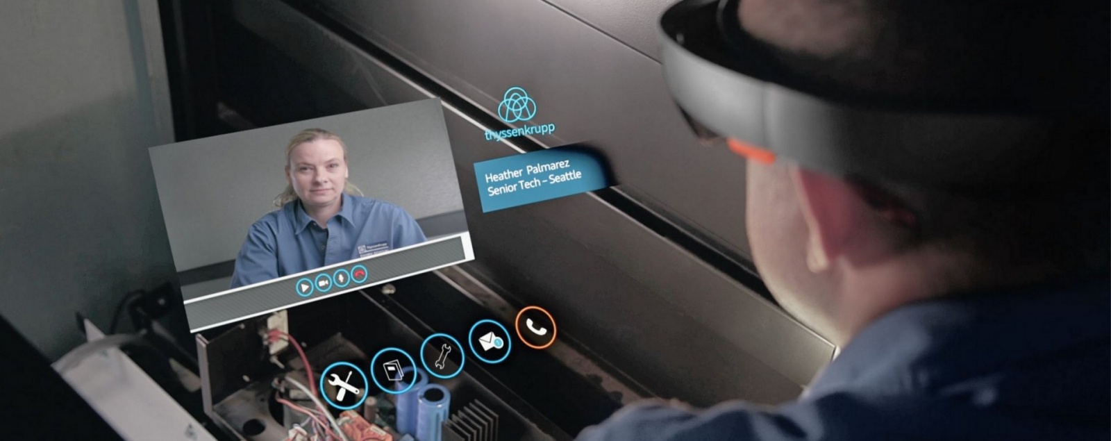 Augmented-Reality-in-field-service